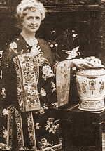 Agatina majka Clara Miler