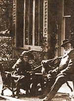 Agata i njen otac Frederic Miller