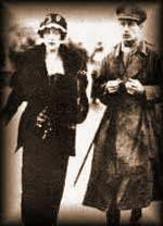 Agatha i Archibald Christie 1919. godine