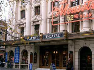 Nezaobilazno mesto u Londonu: St. Martins Theatre