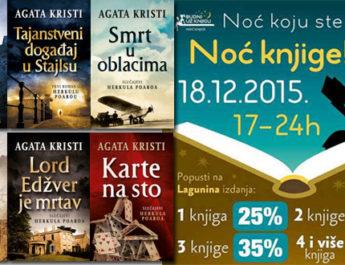 Noć knjige i velikih popusta – Laguna vas očekuje