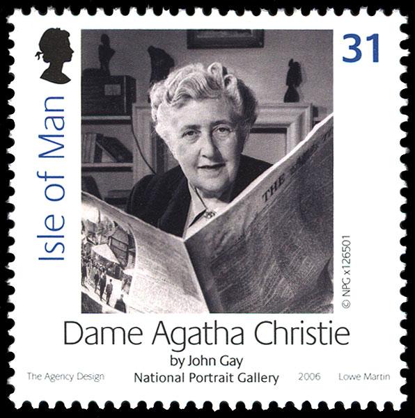 Agatha Christie na poštanskim markama